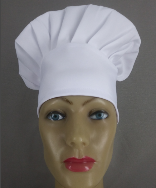 Uniformes para Restaurantes e Gastronomia: Touca Chef Branca