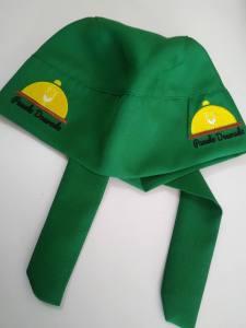 Bandana Bordada verde