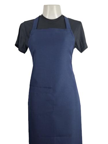 Uniformes para restaurantes e gastronomia, Avental frontal azul